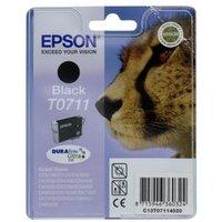 EPSON Cheetah T0711 Black Ink Cartridge, Black