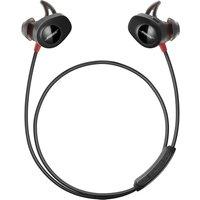 BOSE SoundSport Pulse Wireless Bluetooth Headphones - Black & Red, Black