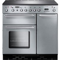 RANGEMASTER Toledo 90 Electric Induction Range Cooker - Stainless Steel & Chrome, Stainless Steel