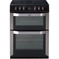 BELLING FSE60DOP 60 cm Electric Ceramic Cooker - Stainless Steel, Stainless Steel
