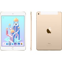APPLE iPad mini 4 Cellular - 128 GB, Gold, Gold