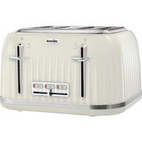 BREVILLE Impressions VTT702 4-Slice Toaster - Vanilla Cream, Cream