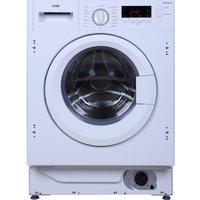 LOGIK  LIW814W15 Integrated Washing Machine - White, White