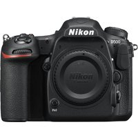 NIKON D500 DSLR Camera - Black, Body Only, Black