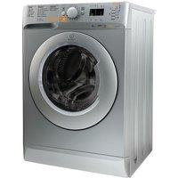 INDESIT Innex XWDE751480XS Washer Dryer - Silver, Silver