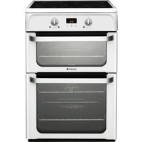HOTPOINT HUI612P Electric Induction Cooker - White, White