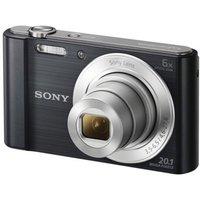 SONY  Cyber-shot DSCW810B Compact Camera - Black, Black