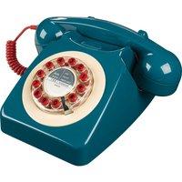 WILD & WOLF  746 Corded Phone - Petrol Blue, Petrol