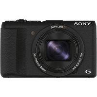 SONY Cyber-shot HX60VB Superzoom Compact Camera - Black, Black