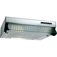BEKO HBV60X Visor Cooker Hood - Stainless Steel, Stainless Steel