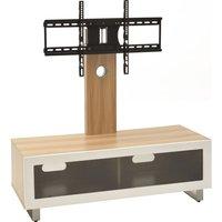TTAP TVS1002 TV Stand with Bracket - Light Oak
