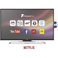JVC LT-43C775 43 Smart LED TV with Built-in DVD Player