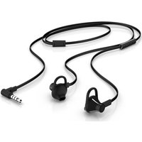 HP 150 Earbud Headset - Black, Black