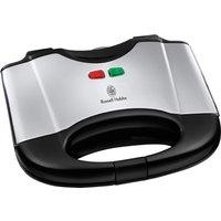RUSSELL HOBBS 17936 Sandwich Toaster - Polished Stainless Steel & Black, Stainless Steel