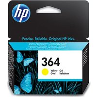 HP 364 Yellow Ink Cartridge, Yellow