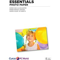 ESSENTIALS  A4 Photo Paper - 30 Sheets