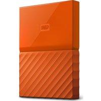 WD  My Passport Portable Hard Drive - 1 TB, Orange, Orange