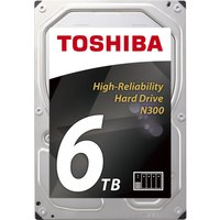 "TOSHIBA N300 3.5"" Internal Hard Drive - 6 TB"