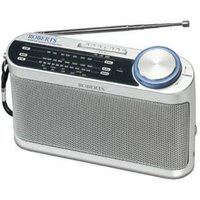 ROBERTS  R9993 Portable Analogue Radio - Silver, Silver