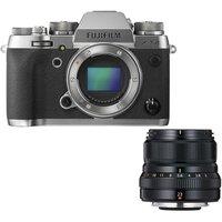 FUJIFILM X-T2 Mirrorless Camera & Fujinon XF 23 mm f/2.0 R WR Lens Bundle