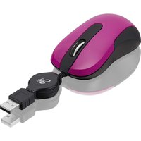 GOJI GRETMPK17 Optical Mouse - Pink, Pink
