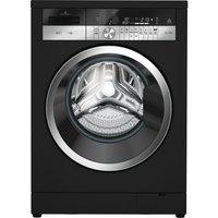 GRUNDIG GWN48430CB Washing Machine - Black, Black