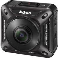 NIKON KeyMission 360 Action Camcorder - Black, Black