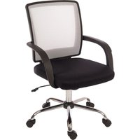 TEKNIK Star 6910WH Mesh Reclining Executive Chair - Black, Black