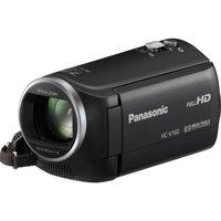 PANASONIC HC-V160EB-K Full HD Camcorder - Black, Black