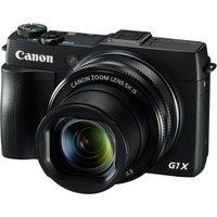 CANON  PowerShot G1X Mark II High Performance Compact Camera - Black, Black