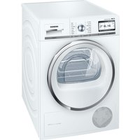SIEMENS WT4HY790GB Heat Pump Smart Tumble Dryer - White, White