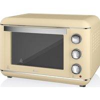 SWAN  Retro SF37010CN Electric Oven - Cream, Cream