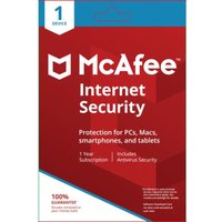 MCAFEE Internet Security - 1 user / 1 device for 1 year