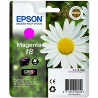 EPSON  Daisy T1803 Magenta Ink Cartridge, Magenta