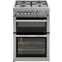 FLAVEL  ML61NDSP Gas Cooker - Silver, Silver