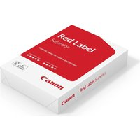 CANON  Red Label Superior A4 Paper - 500 Sheets, Red