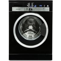 GRUNDIG GWN47430CB Washing Machine - Black, Black