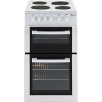 FLAVEL FTCP50W 50 cm Electric Solid Plate Cooker - White, White