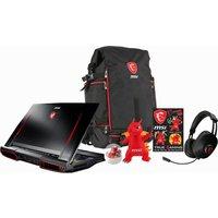MSI Titan Pro GT73VR 7RF Gaming Laptop - Black, Black