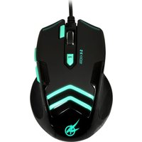 PORT DESIGNS Arokh X-2 Optical Gaming Mouse - Black & Green, Black
