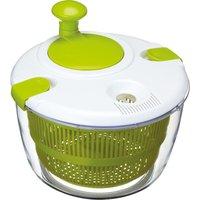 KITCHEN CRAFT Salad Spinner - White & Green, White