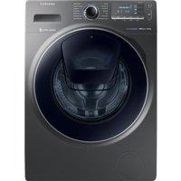SAMSUNG AddWash WW90K7615OX Washing Machine - Graphite, Graphite