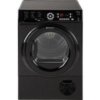 HOTPOINT Futura SUTCD97B6KM Condenser Tumble Dryer - Black, Black