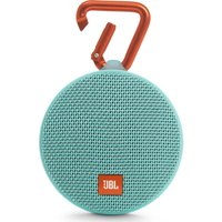 JBL Clip 2 Portable Wireless Speaker - Teal, Teal