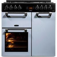 LEISURE Cookmaster 90 Dual Fuel Range Cooker - Blue, Blue