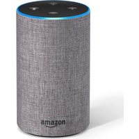 Amazon Echo - Heather Grey Fabric, Grey