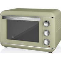 SWAN  Retro SF37010GN Electric Oven - Green, Green