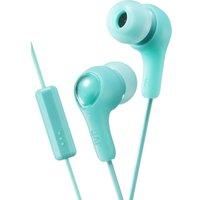 JVC Gumy Plus Headphones - Mint Green, Green