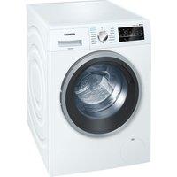 SIEMENS WD15G421GB Washer Dryer - White, White