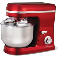 MORPHY RICHARDS 400010 Stand Mixer - Red, Red